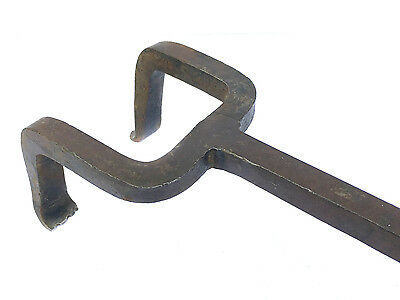 Antique Coopers Flagging Iron Barrel Making Tool Cast Iron Metalware Fireside