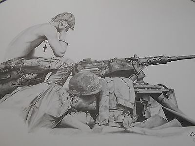"""  GOD AND THE SOLDIER ""       Print            by John Queen"