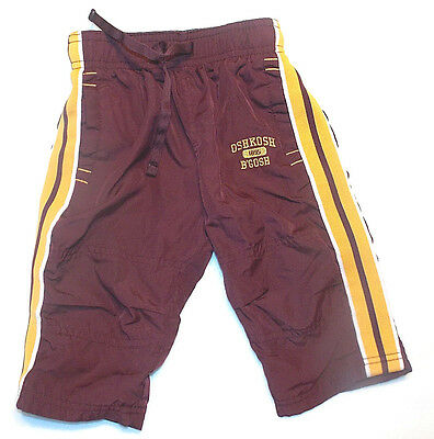 Oshkosh Bgosh Infant Boys Athletic Pants Size 12 Months EUC