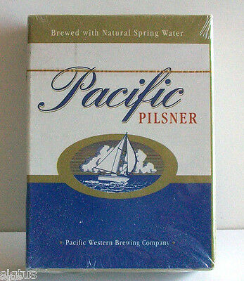 Pacific Pilsner Beer POKER Playing Cards Complete Deck in NEW Sealed Condition