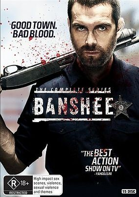 BANSHEE : The COMPLETE SERIES Seasons 1 2 3 4 : NEW DVD