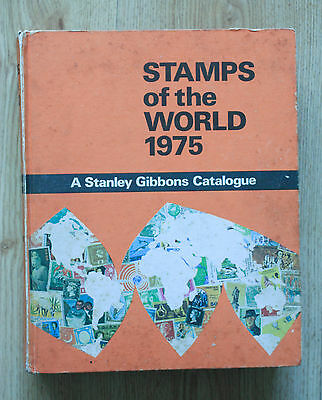 Stamps of the World 1975 - A Stanley Gibbons Catalogue