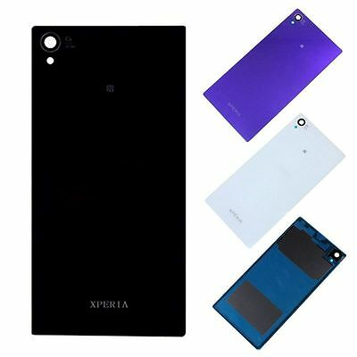 OEM Battery Back Housing Glass Cover & Adhesive For Sony Xperia Z T M C J Series