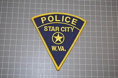 Star City West Virginia Police Department Patch (T3)