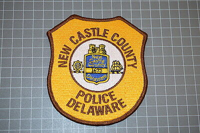 New Castle County Delaware Police Department Patch (T3)