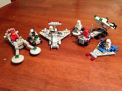 Lego Classic Space Vintage Old 6 Sets