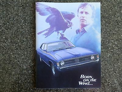 1972 Ford Falcon Xa Brochure.covers All Models Incl Gs,gt, Etc. 100% Guarantee