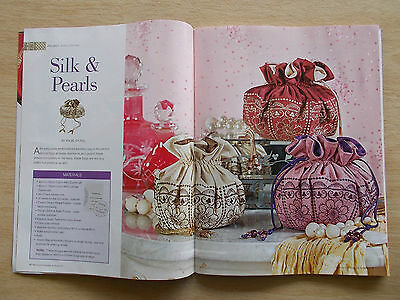 Machine Embroidery & Textile Art Vol 15 #6~Bags~Quilt~Cards~Tissue Cover~Canvas