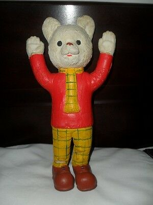 Vintage 1969 Beaverbrook Rupert The Bear Bendy Toy Figure
