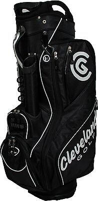 Cleveland Cart Golf Bag - Black - New In Box - Value Plus!