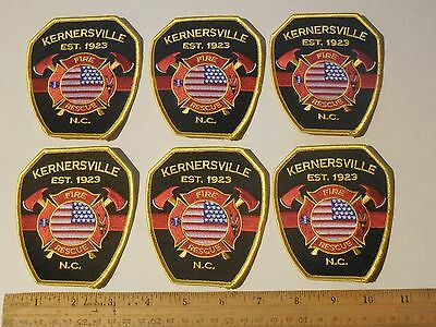 Lot of Fire Department Patches v17a Kernsville, NC