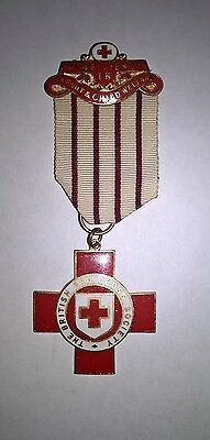 British Red Cross Pendant With Proficiency In Infant & Child Welfare