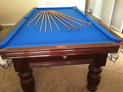 Heiron and Smith Pool Table 8ft