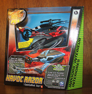 Brand New Air Hogs R/C Havoc Razor Helicopter 2009 Spinmaster Sealed