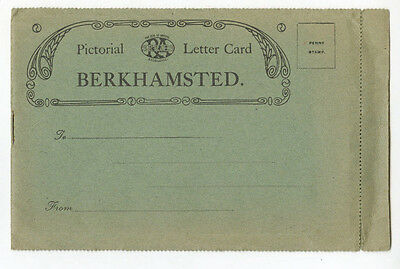 "Postcard: Berkhamsted ""Pictorial Letter Card"", published for G Loosley & Sons"