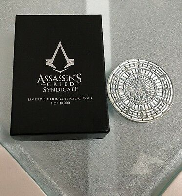Coin : Assassin's creed Syndicate [ Collector's  1 of 10000 ]