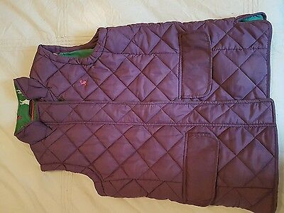 Joules gilet aged 9-10