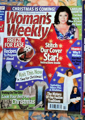 Womens Weekly Magazine CHRISTMAS ISSUE 8th December 2015 Used