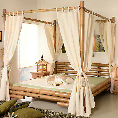 bambusbett 200x200 koh tao braun bambusm be l bambus bett. Black Bedroom Furniture Sets. Home Design Ideas