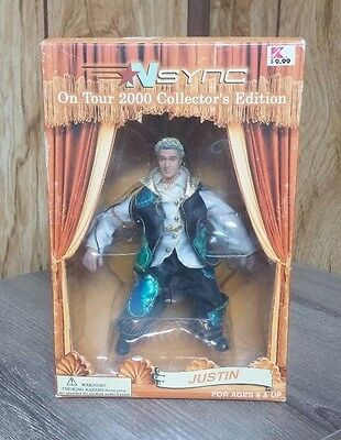 Nsync 2000 Tour Collectors Figure Justin Timberlake