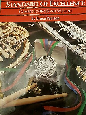 standard of excellence book1 for trumpet/cornet
