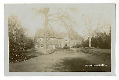 Postcard: Northchurch Hall, nr Berkhamsted. Real Photo, posted 1914