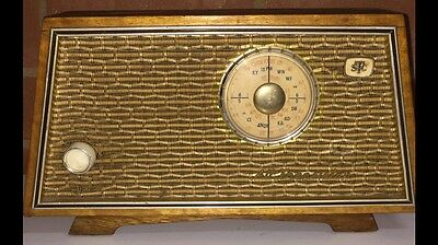 Vintage STC Portable Radio Working Collectable