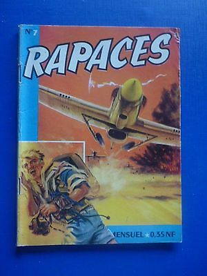 Editions IMPERIA  :  RAPACES  N° 7  -  1961  -  TBE