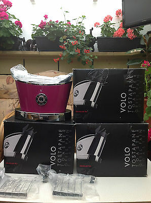 New Bugatti Volo 2-Slice Toaster With Motorized Toast Lift System - Lilac