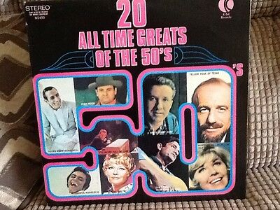 20 All time greats of the 50's. LP