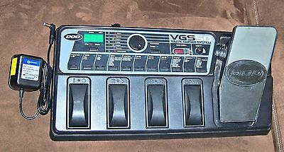 DOD VGS50 Multi-Effects Stereo Guitar Processor Pedal w/ REAL 12AX7 Tube Preamp