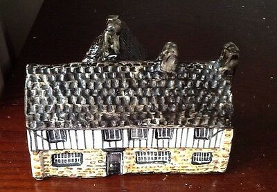 Cromwells House , Ely , Miniature By Tey Pottery