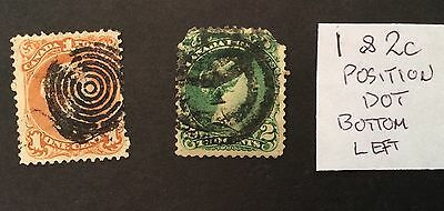 Canada Stamps Used Large Queen, Victoria