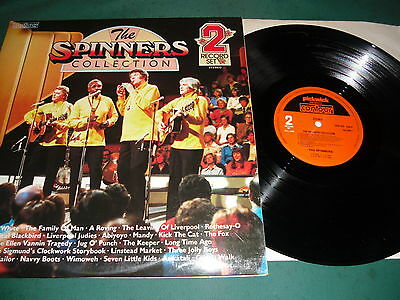 The Spinners Double  Lp - The Spinners Collection