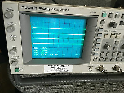 Fluke PM 3082 100MHz 4 Channel Analogue Oscilloscope