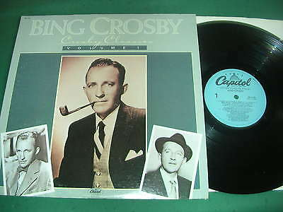 Bing Crosby  Lp Lot Of 2 - Crosby Classics Vol.1/when The Blue Of The Night.....