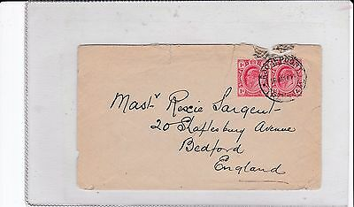 Transvaal Roodepoort Cover to Bedfor England