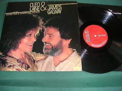 Cleo Laine & James Galway Lp - Sometimes When We Touch