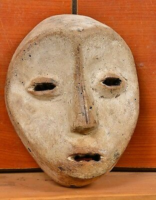African Lega  Mask from  D R of Congo