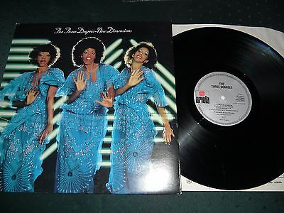 The Three Degrees Lp - New Dimensions