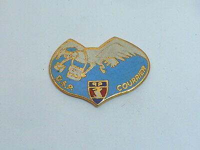 Pin's POLICE, D.S.P. COURRIER