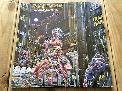 Iron Maiden - Somewhere In Time 1986 Vinyl Lp New & Sealed