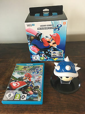 Mario Kart 8 Limited Edition for Wii U with spiny shell (no game disc)