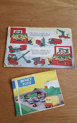 Dinky 8th edition Brochure And Meccano Hornby Brochure