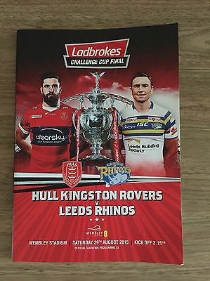 Rugby league challenge Cup Final Programme
