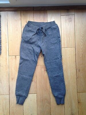girls GAP grey joggers age 8-9 years