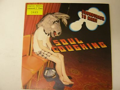 "SOUL COUGHING Soundtrack To Mary 7"" Clear Vinyl (Rare/Numbered)"