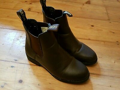 Jodhpur boots brown leather size 4
