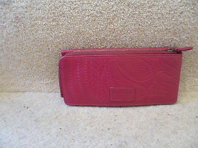 Radley Large Leather Pink Purse Never Used