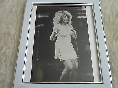 Original framed lobby card Tina turner Whats love got to do with it & Photo Dvd
